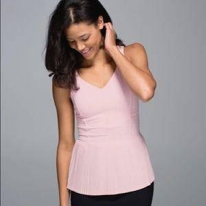 Lululemon Size 10 City Tank Pink